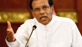 mahinda-rajapaksa-will-be-defeated-again-sri-lankan-president-maithripala-sirisena